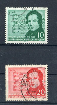 DDR 541-542 gestempelt