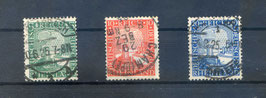 Deutsches Reich RHEINLAND 1000 JAHRE DEUTSCH 372-374 gestempelt (2)