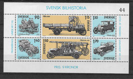 Schweden Block 8 postfrisch (2)