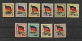 DDR 722-731 Y postfrisch