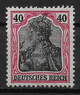Deutsches Reih GERMANIA 90 IIb ungebraucht (BPP JÄSCHKE) (3)