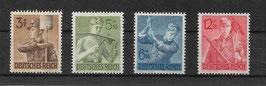 Deutsches Reich ARBEITSDIENST 850-853 postfrisch