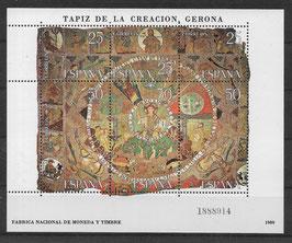 Spanien Block 22 postfrisch (2)