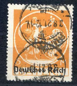 Deutsches Reich ABSCHIEDSSERIE 136 I gestempelt