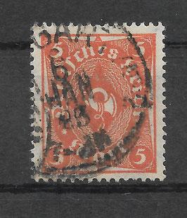 Deutsches Reich FREIMARKE POSTHORN 227a gestempelt (INFLA) (3)