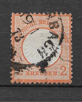Deutsches Reich BRUSTSCHILD 15 gestempelt (BPP KRUG) (4)