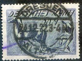 Deutsches Reich FREIMARKE 196 gestempelt