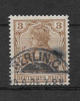 Deutsches Reich GERMANIA 69b gestempelt (BPP JÄSCHKE)