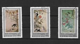 NORDKOREA 1802-1804 gestempelt