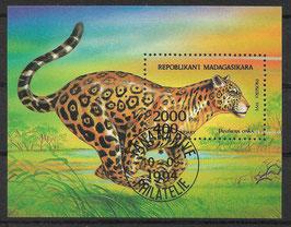 MADAGASKAR Block 261 gestempelt