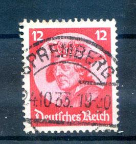Deutsches Reich REICHSTAG in POTSDAM 480 gestempelt