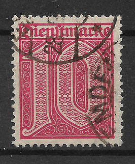 Deutsches Reich DIENST 24 gestempelt