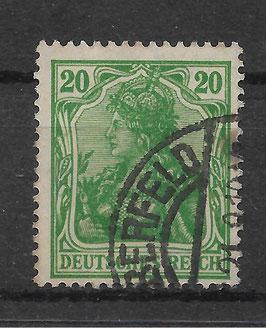 Deutsches Reich GERMANIA 143a gestempelt (BPP BAUER)