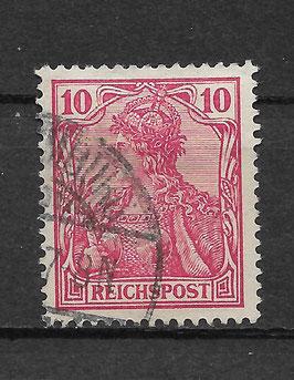 Deutsches Reich REICHSPOST 56a gestempelt (BPP JÄSCHKE) (III)
