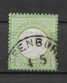 Deutsches Reich BRUSTSCHILD 23a gestempelt (BPP KRUG) (12)