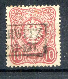 Deutsches Reich PFENNIGE 33a gestempelt (BPP JÄSCHKE) (2)
