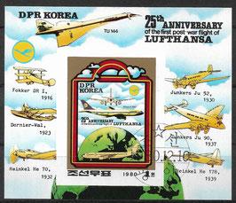 Nordkorea Block 85 gestempelt