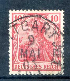 Deutsches Reich GERMANIA o. WZ 71 gestempelt