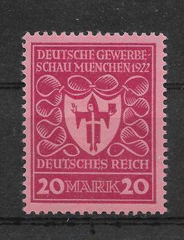 Deutsches Reich GEWERBESCHAU 204b postfrisch (INFLA)