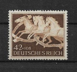 Deutsches Reich GALOPPRENNEN DAS BRAUNE BAND von DEUTSCHLAND 815 postfrisch (4)