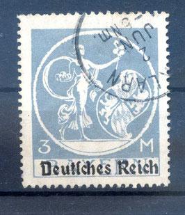 Deutsches Reich ABSCHIEDSSERIE 134 I gestempelt