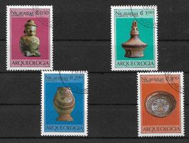 NICARAGUA 2441-2444 gestempelt