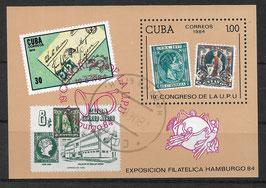 CUBA Block 83 gestempelt