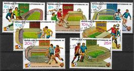 GUINEA 920-926 gestempelt