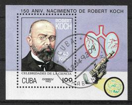 CUBA Block 134 gestempelt