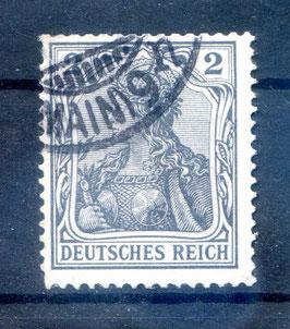 Deutsches Reich GERMANIA o. WZ 68 gestempelt (III)