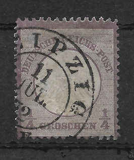Deutsches Reich BRUSTSCHILD 1 gestempelt (BPP KRUG) (4)