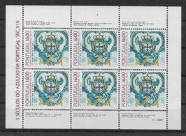 Portugal Kleinbogen 1625 postfrisch