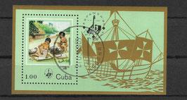 CUBA Block 89 gestempelt