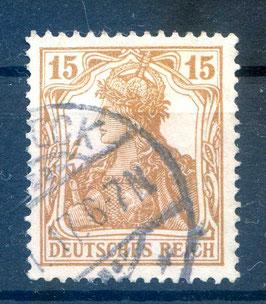 Deutsches Reich GERMANIA 100a gestempelt (BPP BAUER) (4)