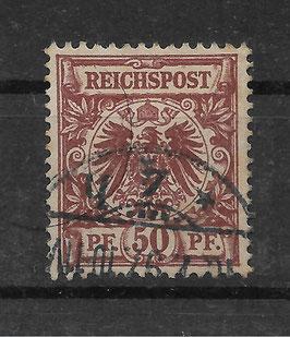 Deutsches Reich KRONE & ADLER 50d gestempelt (BPP WIEGAND) (3)