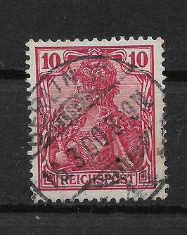 Deutsches Reich REICHSPOST 56b gestempelt (BPP JÄSCHKE) (2)