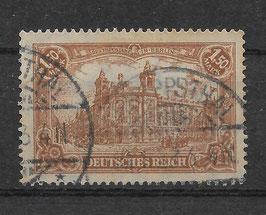 Deutsches Reich GERMANIA 114a gestempelt (BPP BAUER) (7)