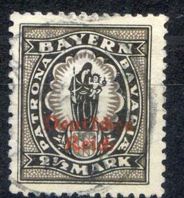 Deutsches Reich FREIMARKE 133 I gestempelt