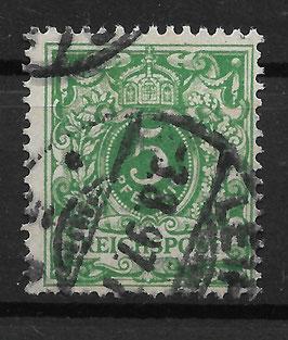 Deutsches Reich KRONE & ADLER 46c gestempelt (BPP WIEGAND) (2)