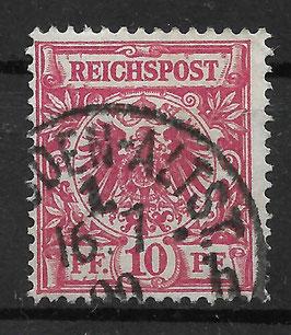 Deutsches Reich KRONE & ADLER 47a gestempelt (BPP WIEGAND) (4)