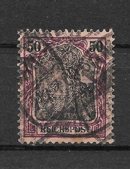 Deutsches Reich REICHSPOST 61 gestempelt (III)