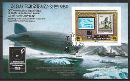 Nordkorea Block 83 gestempelt