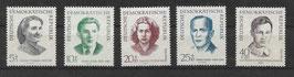 DDR 881-885 postfrisch
