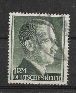 Deutsches Reich FREIMARKE ADOLF HITLER 799 A gestempelt (3)