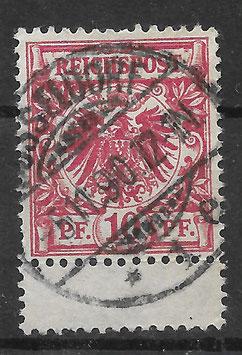 Deutsches Reich KRONE & ADLER 47b ZS gestempelt (BPP WIEGAND) (4)