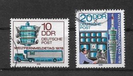 DDR 2316-2317 gestempelt