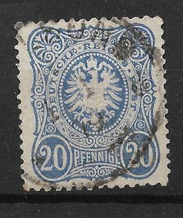 Deutsches Reich PFENNIGE 34a gestempelt (BPP WIEGAND) (5)