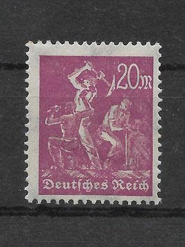 Deutsches Reich FREIMARKE ARBEITER 241 ungebraucht (BPP BAUER)