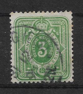 Deutsches Reich PFENNIG 39 Ib gestempelt (BPP WIEGAND) (VI)