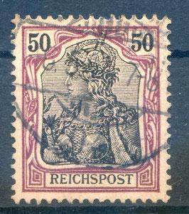 Deutsches Reich REICHSPOST 61 gestempelt (2)
